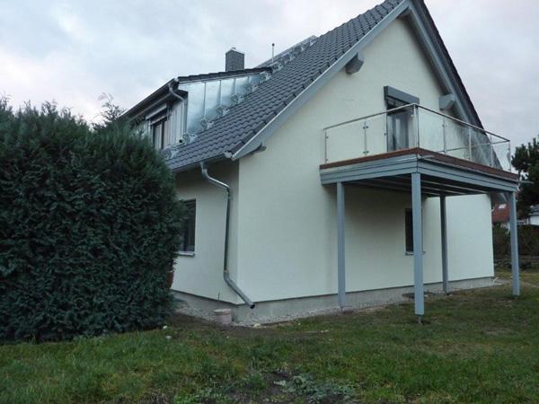 Bauen mit Holz: Balkon - Modernisierung - Dachkonstruktion - Holzterrasse