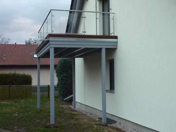 Holzbauwerke Basan: Balkon - Modernisierung - Dachkonstruktion - Holzterrasse