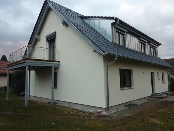 Mit Basan: Balkon - Modernisierung - Dachkonstruktion - Holzterrasse