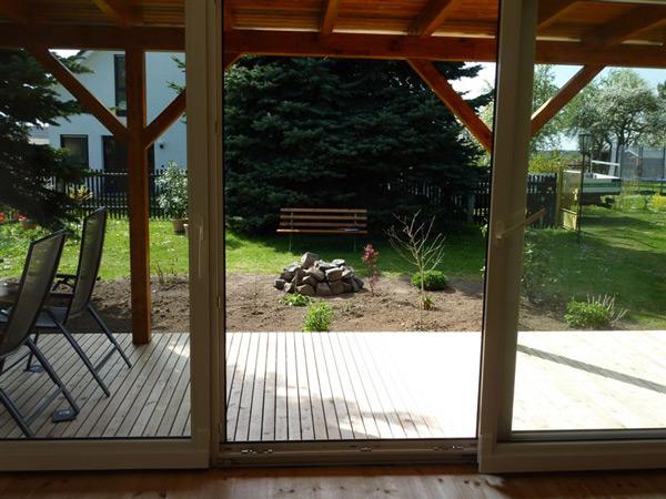 Holzbauwerke: Wintergarten und Holzterrasse
