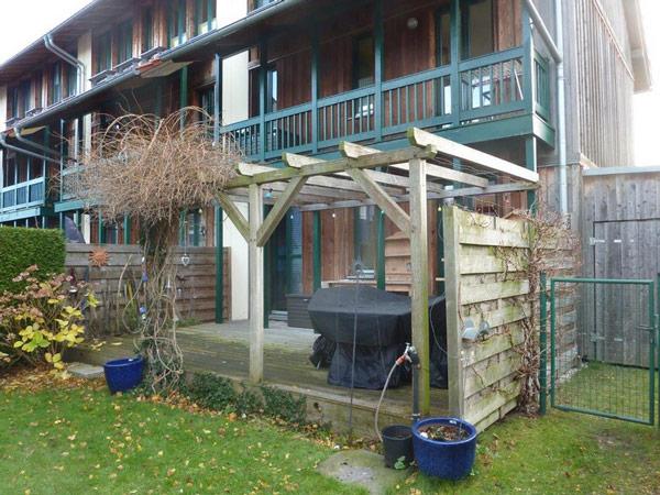 Mit Basan: Dachkonsturktion aus Holz