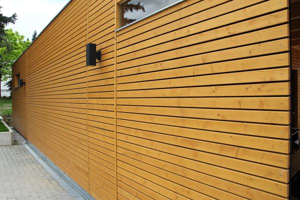 Holzfassade: Verlegearten