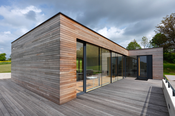 Holzhaus bauen lassen-Basan Bauwerke aus Holz