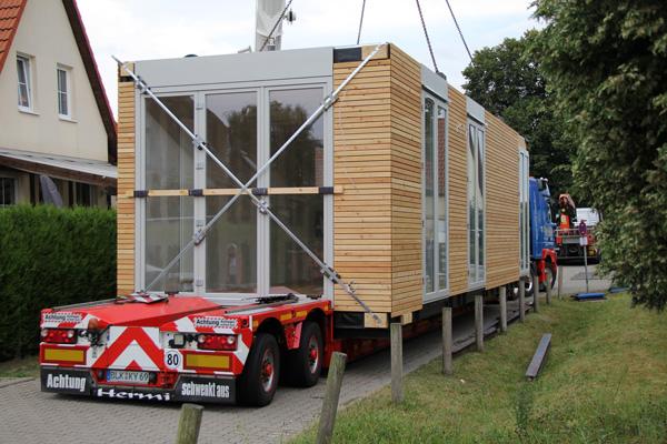 Modulhaus Holz - Basan Bauwerke aus Holz